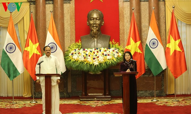 Vietnam, India work toward 15 billion USD trade value