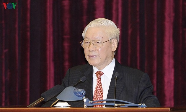 Party Central Committee's 11th plenum closes