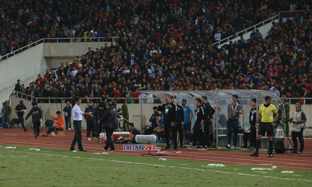 Thai assistant coach to face suspension for discriminatory behavior to Park