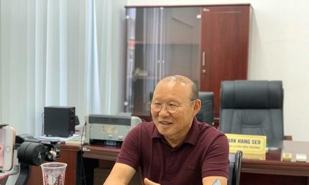 Park Hang-seo unveils 2-year plan for Vietnam football