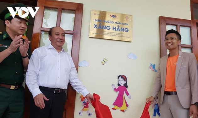 VOV inaugurates kindergarten in Thanh Hoa province