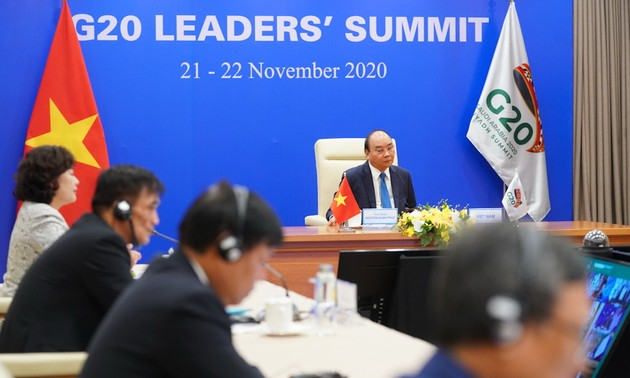 Vietnamese PM calls on G20 to uphold multilateral cooperation to defeat pandemic
