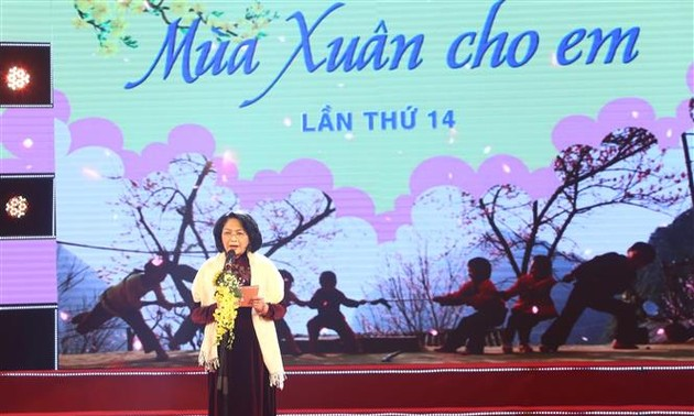 Vice President calls for best possible care for children as Lunar New Year nears