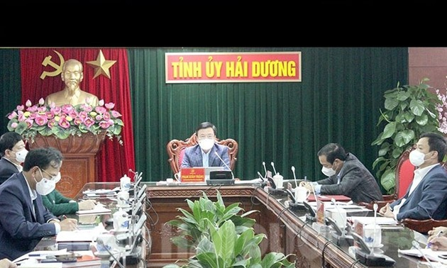 Social distancing imposed in Hai Duong as COVID-19 spreads