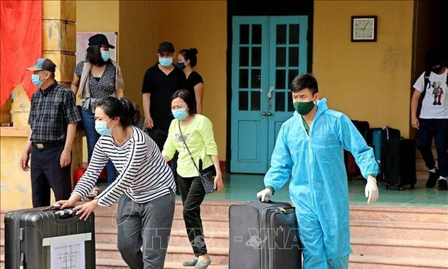 Vietnam reports 5 more imported cases of COVID-19 on Wednesday afternoon