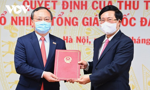Do Tien Sy appointed VOV President