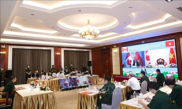 Vietnam, Canada hold first online defence policy dialogue
