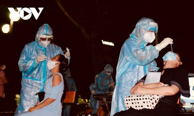 Vietnam reports 3,200 cases of COVID-19 Monday morning