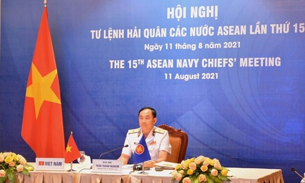 ASEAN navy forces discuss blue economy