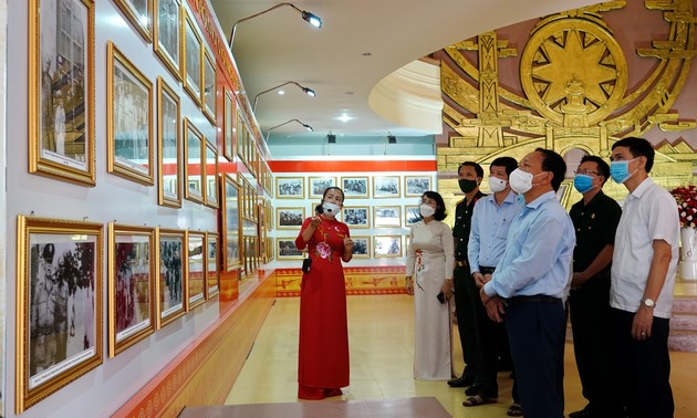 Exhibition of 110 photos portraying General Vo Nguyen Giap