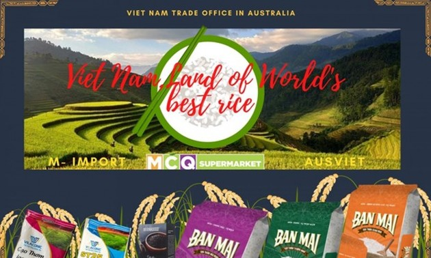 Vietnam's rice introduced to consumers in Australia