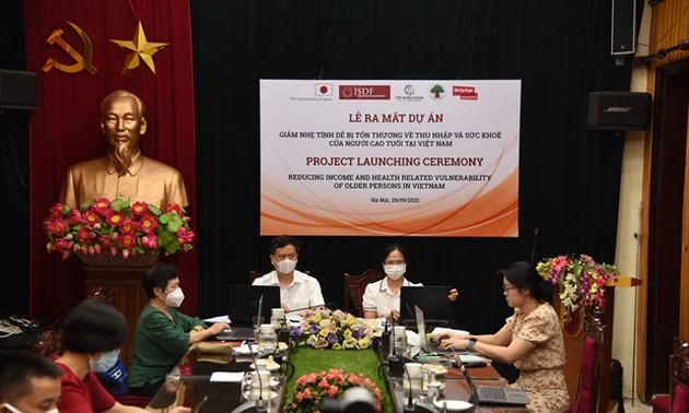 WB, Japan support community based care for the elderly in Vietnam
