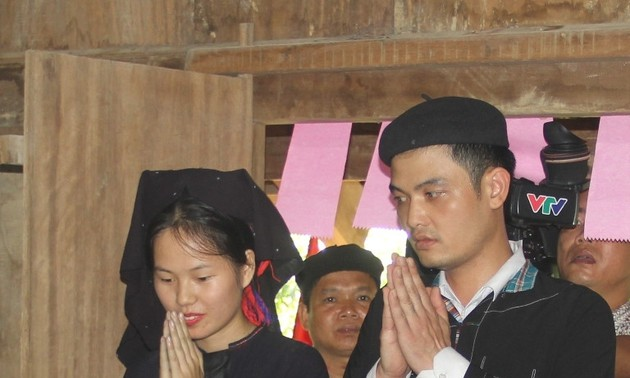 越南老街省侬族同胞的婚俗
