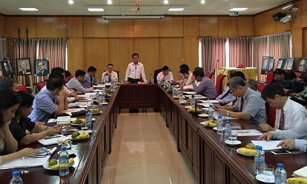 Союз обществ дружбы Вьетнама провел встречу с послами и главами представительств Вьетнама за рубежом