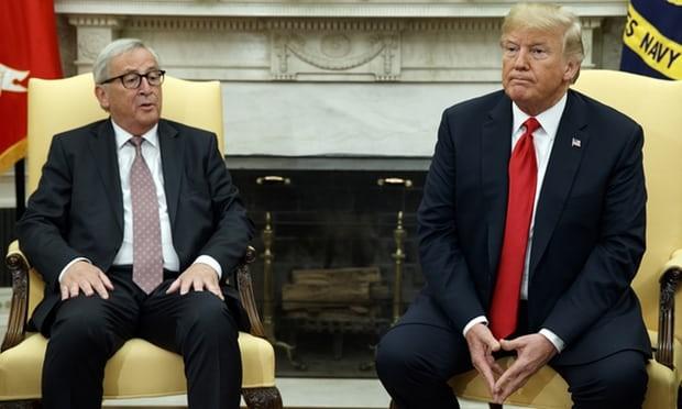 ЕС использует газ в качестве предлога для смягчения торговой напряженности с США