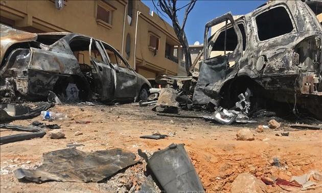 ООН назвала нападение на мирных жителей в Ливии военным преступлением