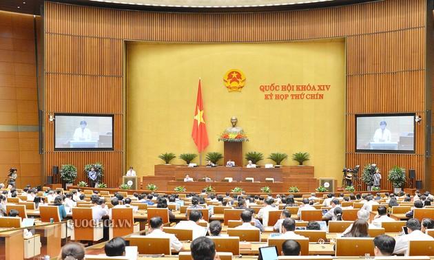 Национальное собрание Вьетнама продолжает рассматривать многие важные вопросы