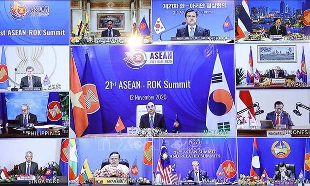 21-й саммит АСЕАН-Республика Корея: АСЕАН приветствует проведение РК новой политики, ориентированной на Юг