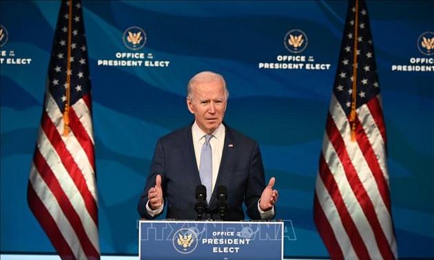 Новоизбранный президент США пообещал продолжать курс на восстановление американской экономики