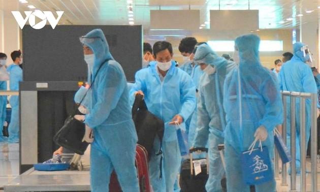281 вьетнамский граждан, вернувшийся из Франции, был помещен на карантин