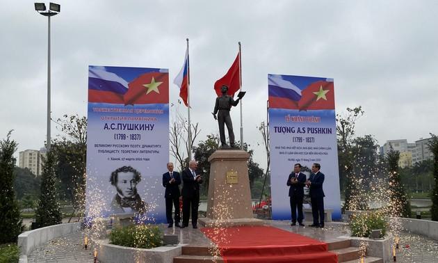 В Ханое открылся памятник А. С. Пушкину