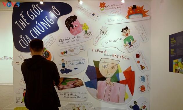 Выставка «Параллельный мир» - новый взгляд на детей с аутизмом.