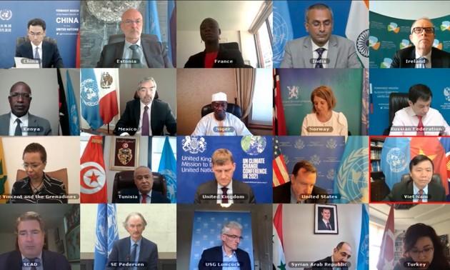 Совет безопасности ООН провел очередное заседание по международным вопросам