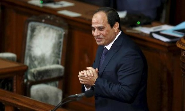 Egypt underlines two-state solution for Palestine and Israel