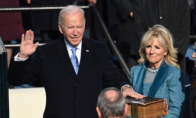 Photos of Joe Biden's inauguration as the 46th president of the United States