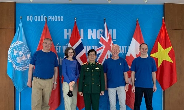 Đại diện các nước G4 gửi thông điệp chúc Tết tới lực lượng gìn giữ hòa bình Việt Nam