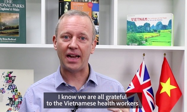 Ambassador Gareth War: The UK supports vaccination programme in Vietnam