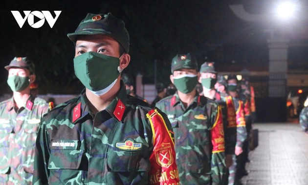 Security forces help contain COVID-19 in HCM City