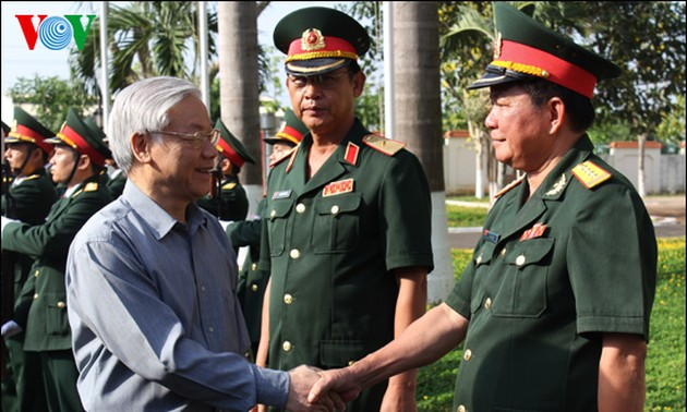 Party leader visits Binh Phuoc province