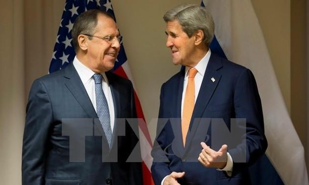 Lavrov, Kerry hail progress in Syrian ceasefire