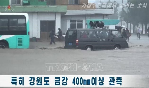 Red Cross helps North Koreans cope with coronavirus, floods