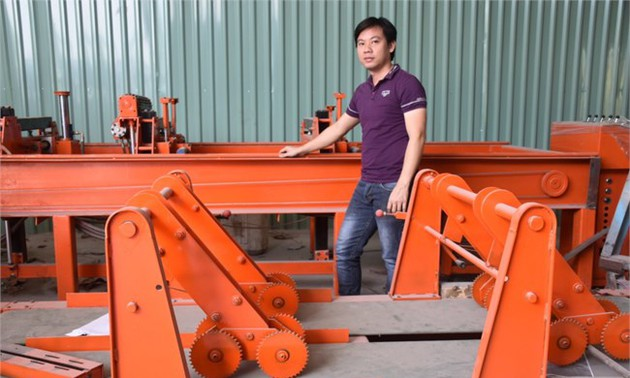 Young inventor passionate about engineering research