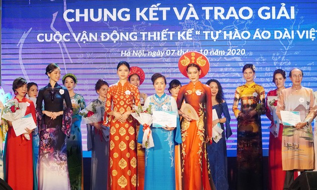 """Winners of """"Proud of Vietnamese Ao Dai"""" contest announced"""