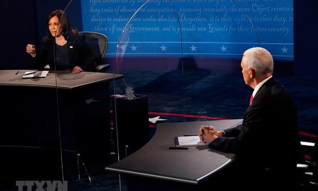 US Vice Presidential candidates spar in their only debate