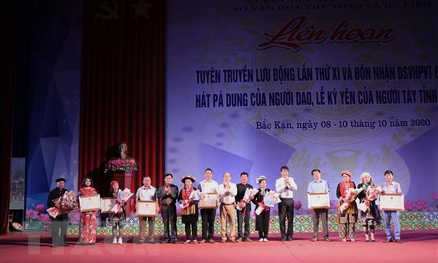 Pao Dung singing and Ky Yen festival recognized as intangible cultural heritage
