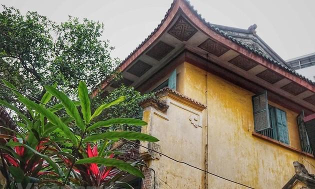 Unique architecture of King Bao Dai mansion in Hanoi