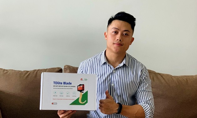 Medical student invents equipment to support COVID-19 treatment