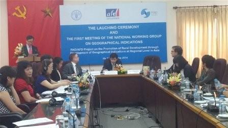 AFD tài trợ phát triển chỉ dẫn địa lý cấp khu vực ở châu Á