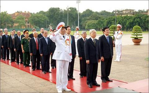 Lễ viếng cấp Nhà nước nhân kỉ niệm 67 năm ngày Thương binh, Liệt sỹ