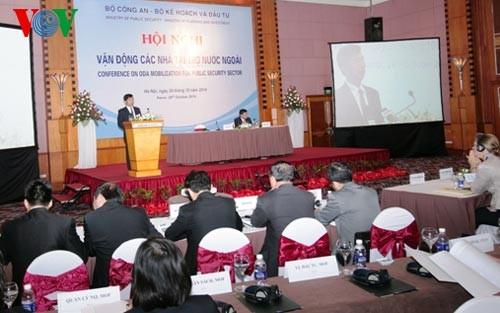 Bộ Công an tổ chức hội nghị vận động các nhà tài trợ nước ngoài