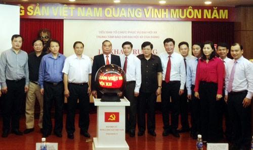 """Khai trương Trang tin điện tử """"Đảng Cộng sản Việt Nam - Đại hội XII"""""""