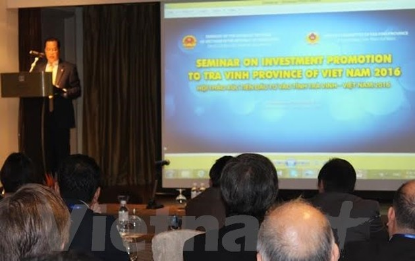 Tỉnh Trà Vinh giới thiệu với doanh nghiệp Singapore cơ hội đầu tư vào các khu công nghiệp trọng điểm