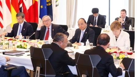 Lập trường của G7 là giải quyết vấn đề trên Biển Đông và Hoa Đông dựa trên Luật pháp quốc tế