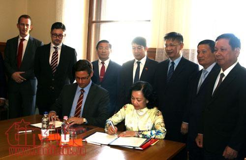 Thúc đẩy và tăng cường đối ngoại Quốc hội và ngoại giao nhân dân giữa Việt Nam và Hungary