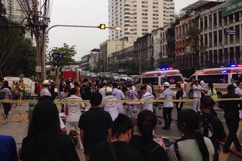 Cháy chung cư ở Bangkok, 3 người chết, nhiều người Việt bị thương