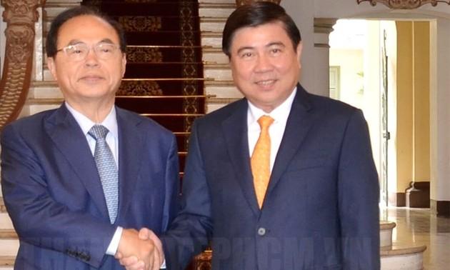 Thành phố Hồ Chí Minh và thành phố Busan thúc đẩy hợp tác cùng phát triển
